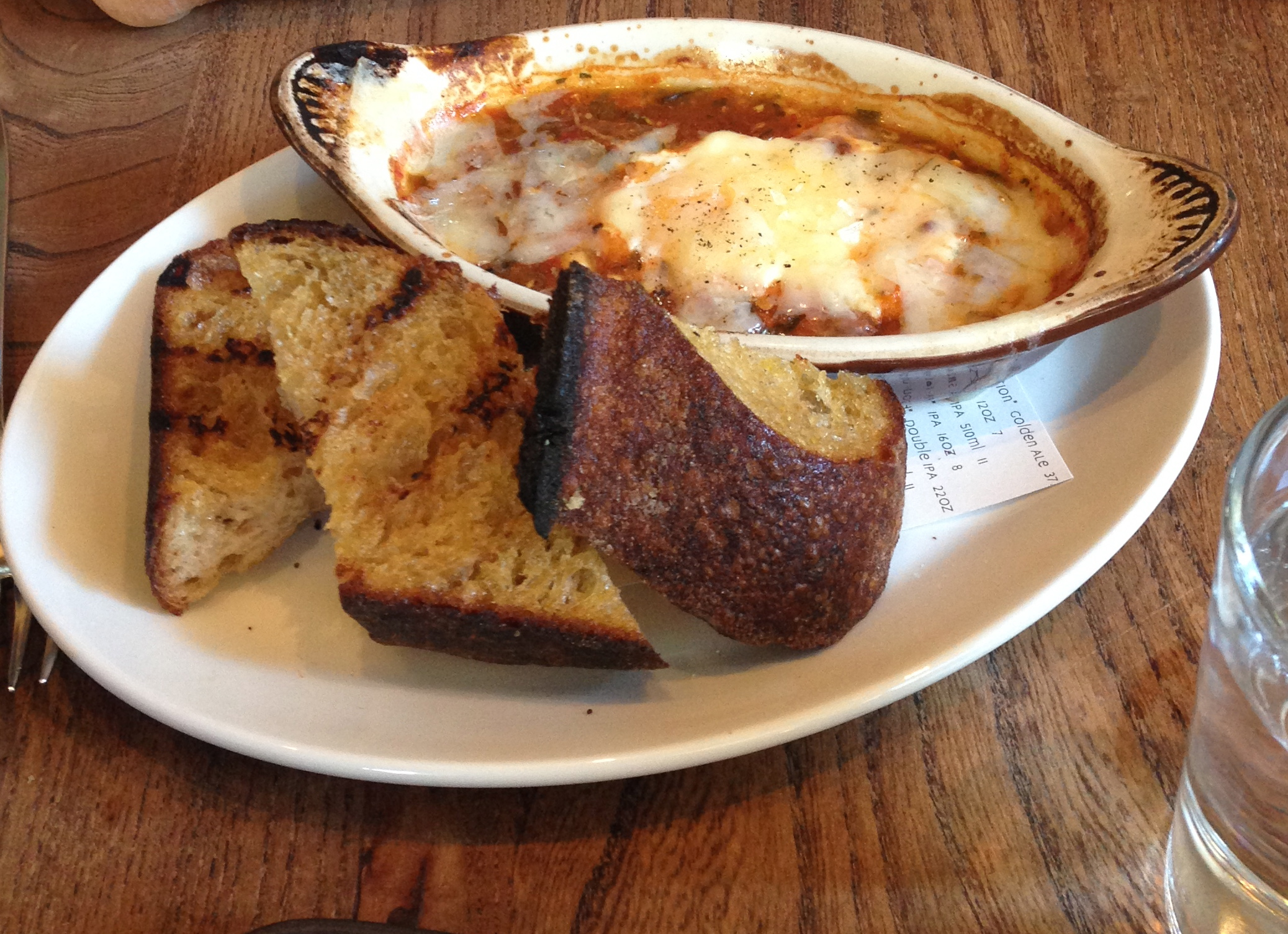 Oven Baked Egg – Roasted Corn, Tomatillos, Mezzo Secco and Toast